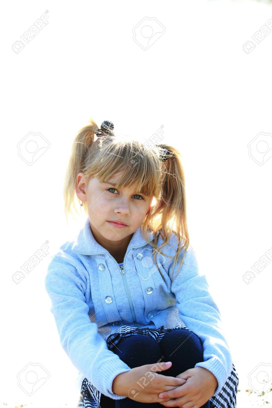 Portrait of a pretty girl Stock Photo - 16249437
