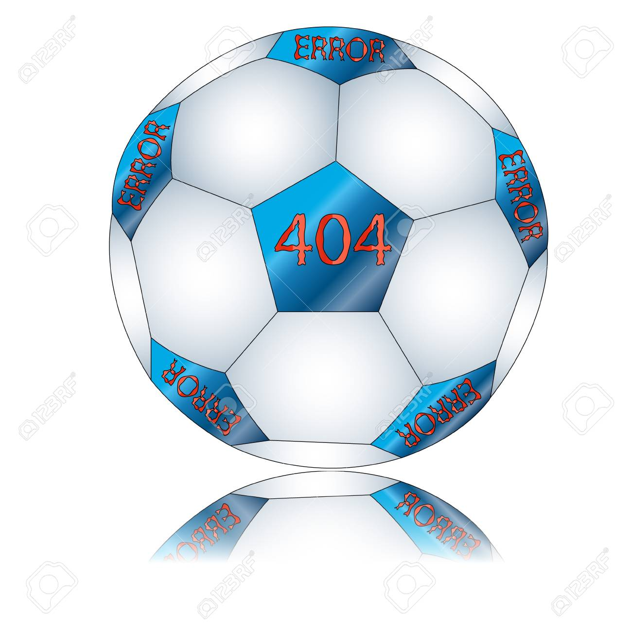 Sign 404 located on a white background Stock Vector - 12682202