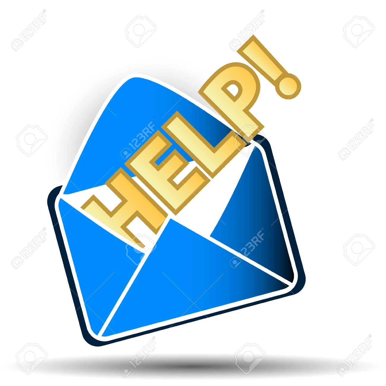 Fine help symbol on a white background Stock Vector - 16099005