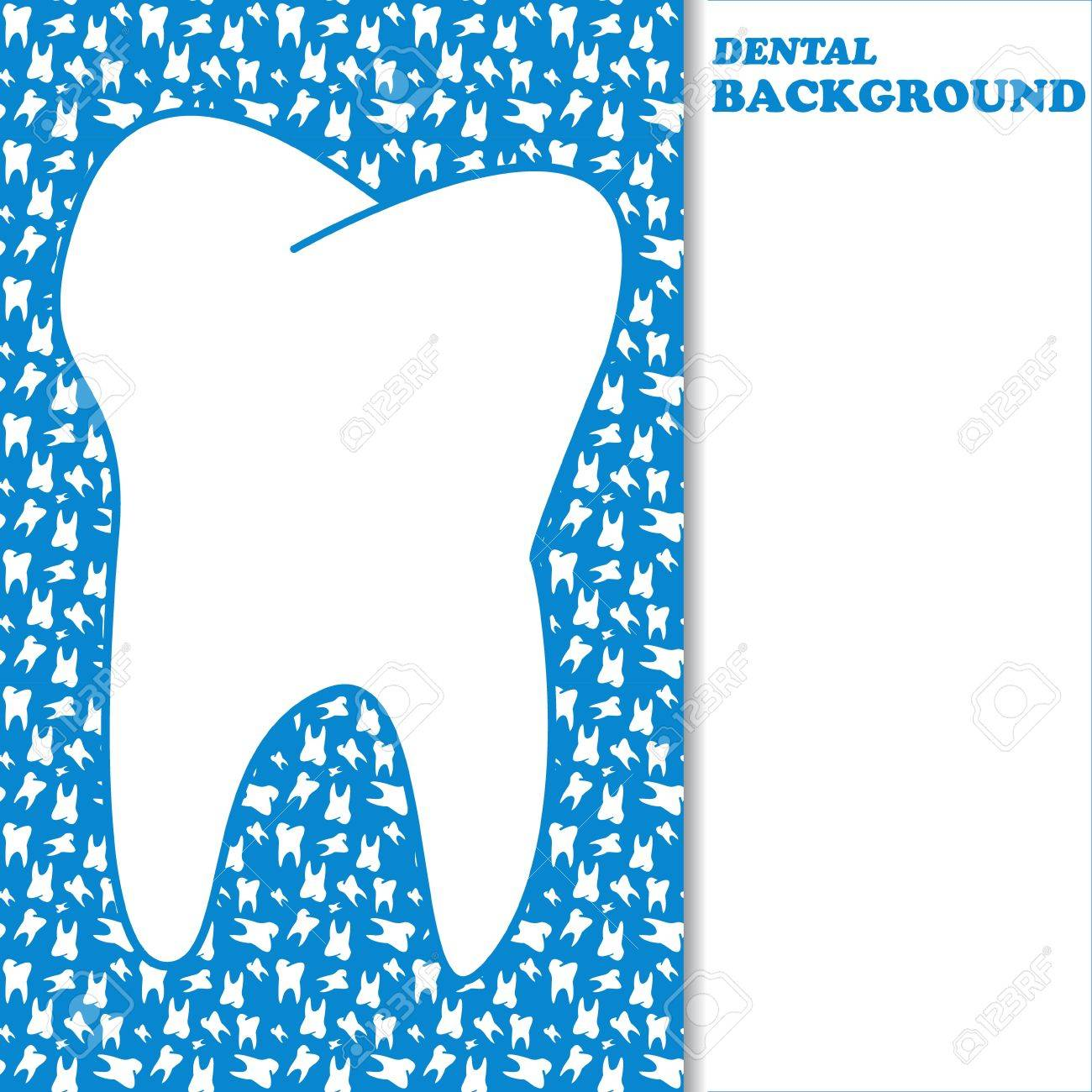 New dental background with space for text Stock Vector - 20173449
