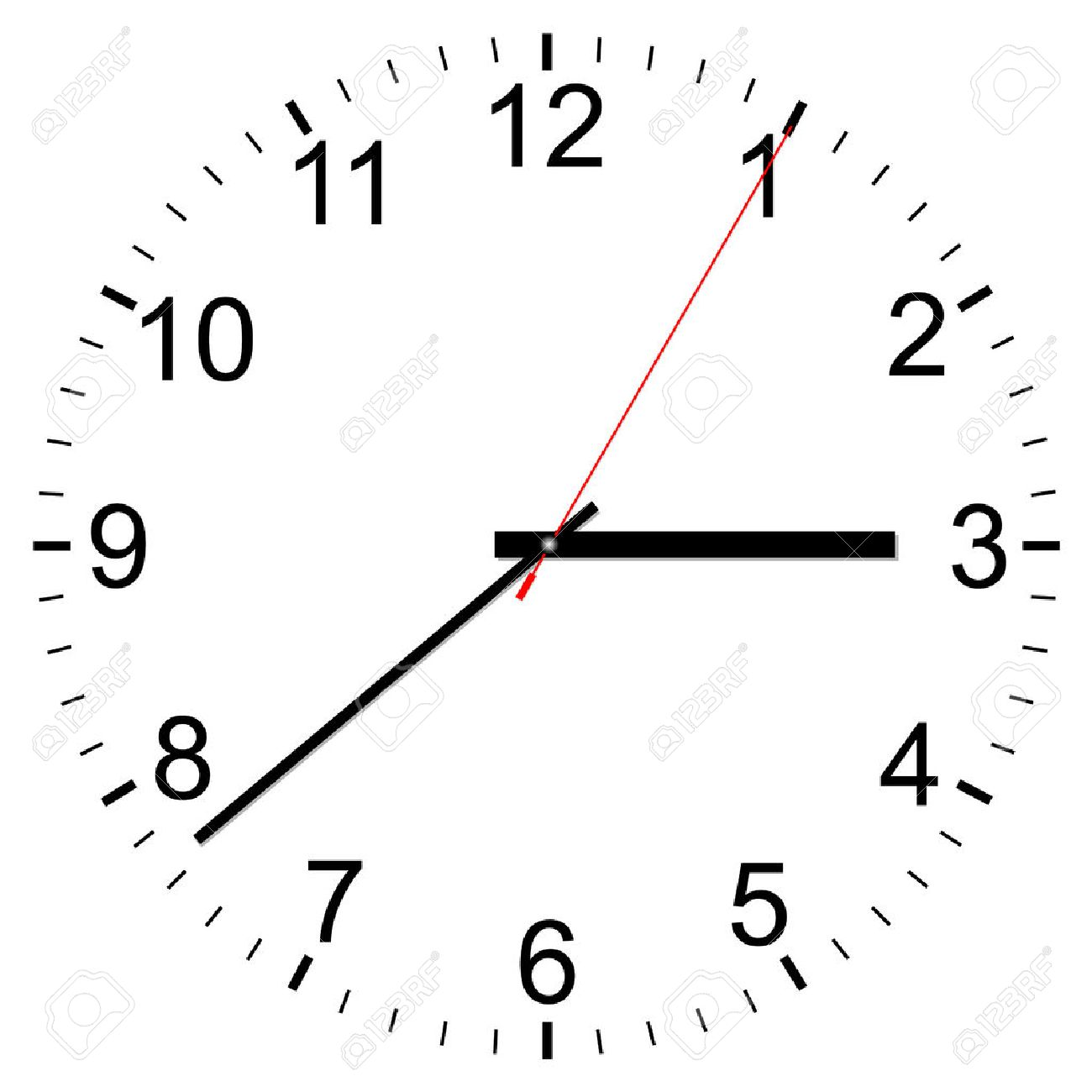 Clock vector icon on a white background Stock Vector - 22387798