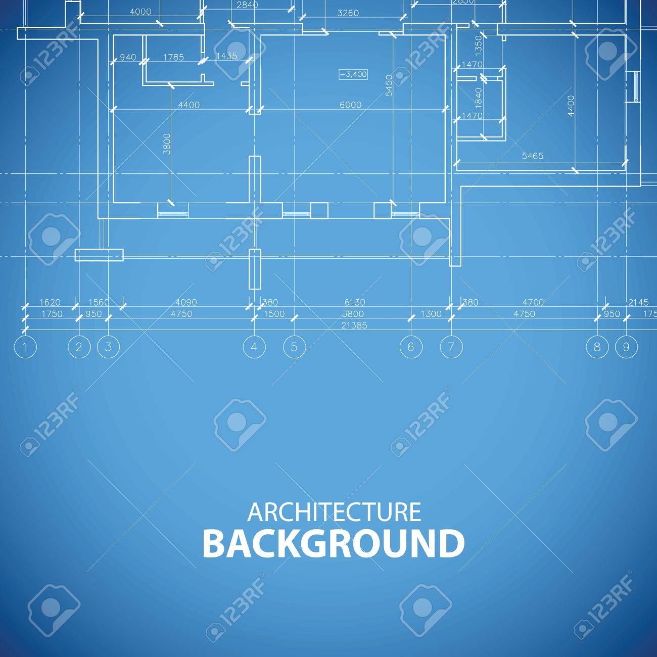 Blueprint building background royalty free cliparts vectors and blueprint building background stock vector 38323825 malvernweather Image collections