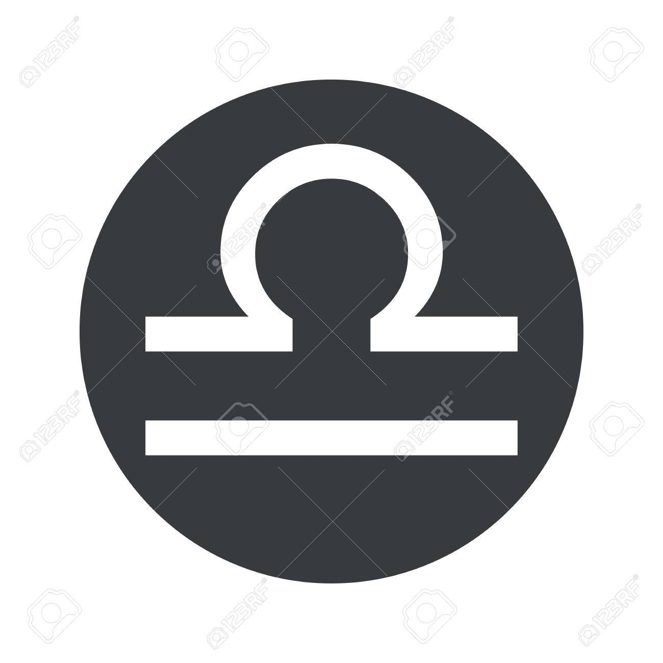 image of libra zodiac symbol in black circle isolated on white rh 123rf com library logon libra logistics