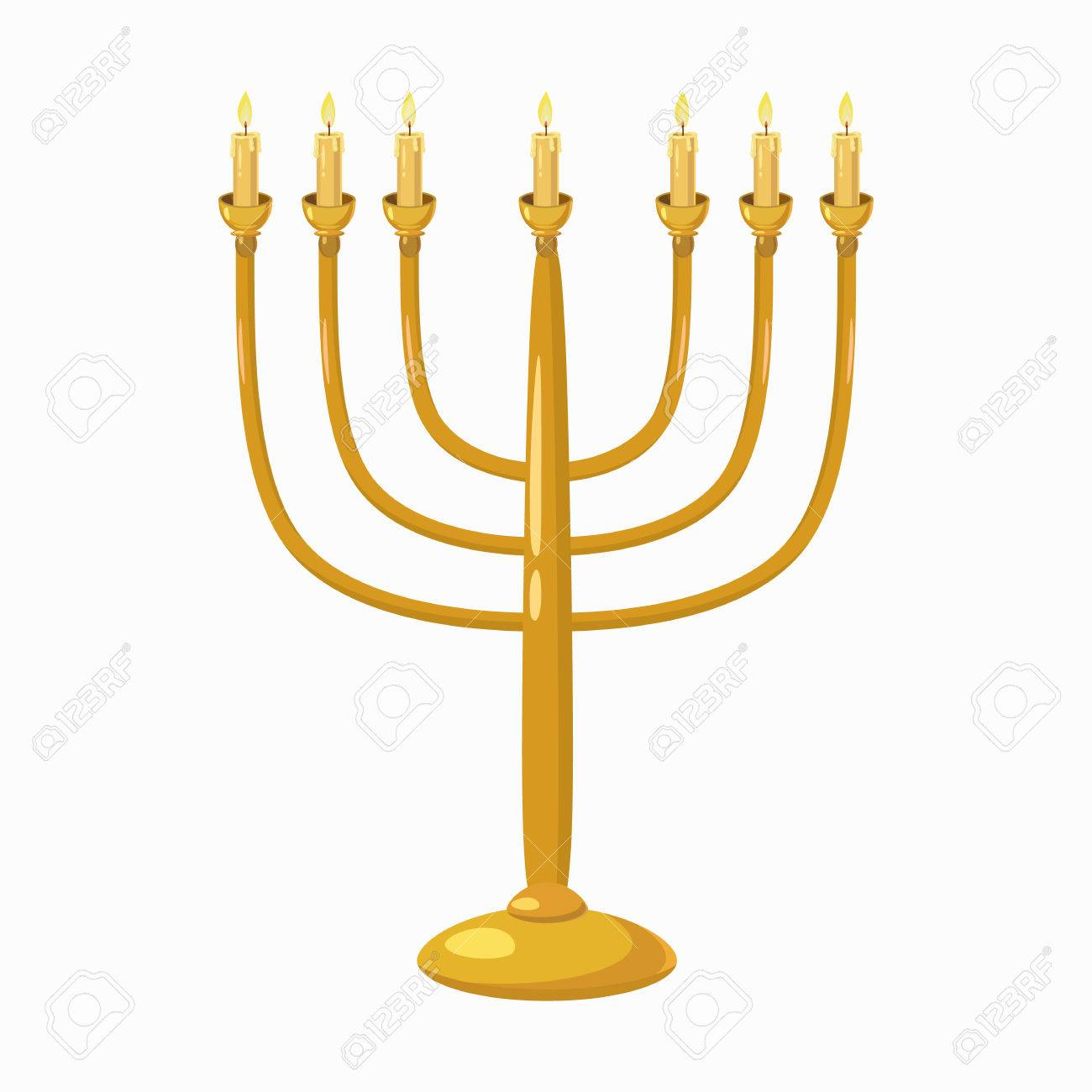 Jewish menorah with candles icon in cartoon style isolated on jewish menorah with candles icon in cartoon style isolated on white background stock vector 55045664 biocorpaavc Image collections