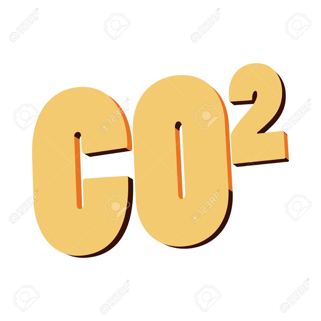Carbon dioxide co2 icon in cartoon style on a white background carbon dioxide co2 icon in cartoon style on a white background stock vector 57979973 buycottarizona Images