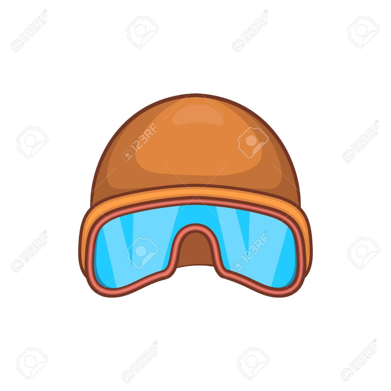 chapeau noir, style, lunettes, icône, dessin animé