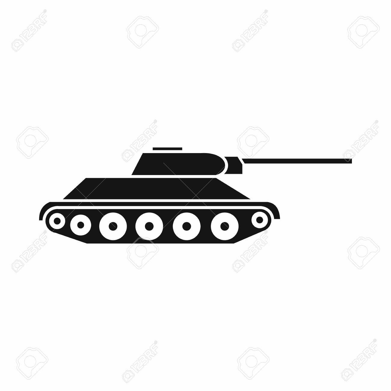 tank icon in simple style isolated on white background military royalty free cliparts vectors and stock illustration image 60388073 tank icon in simple style isolated on white background military