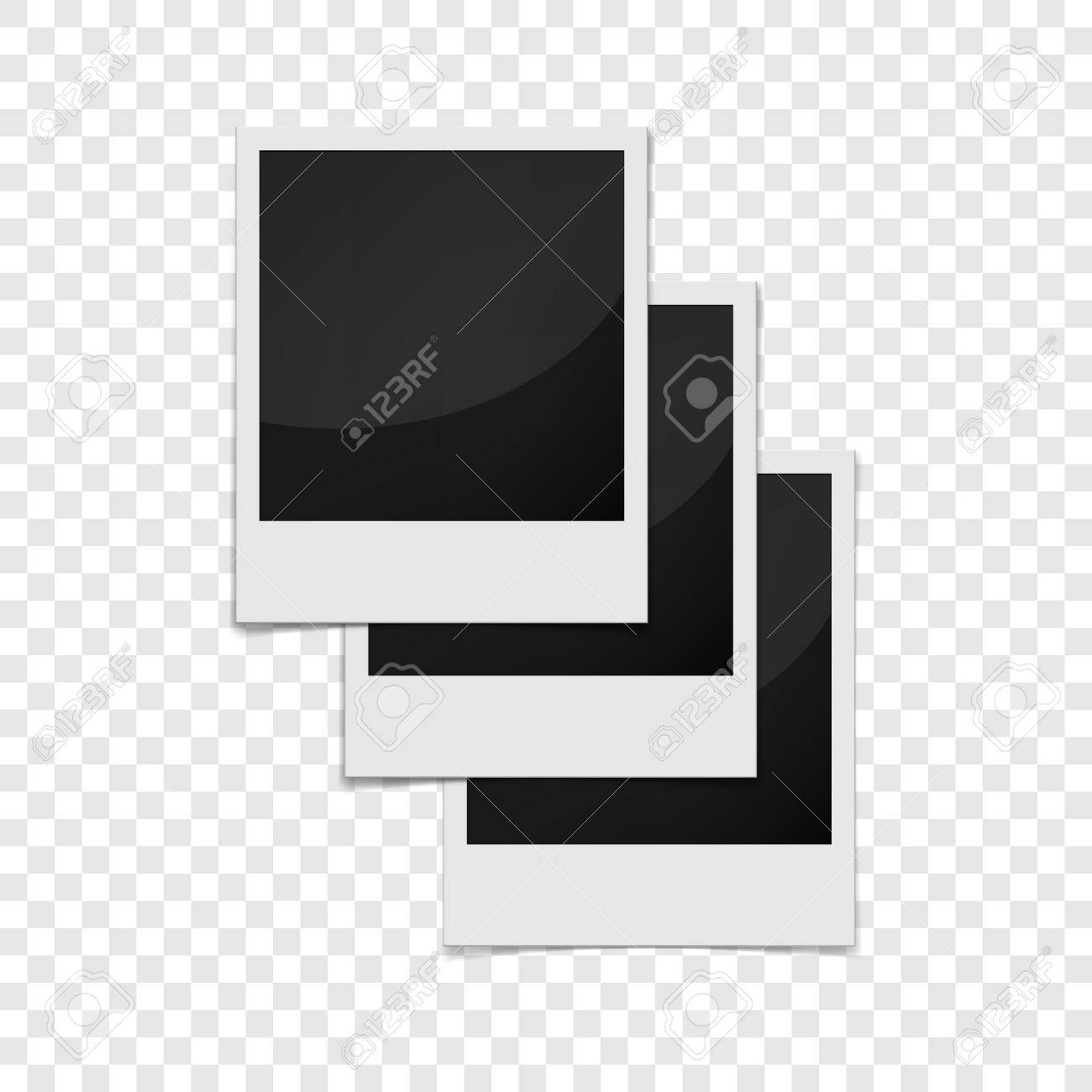 Realistische Fotorahmen-Symbol. Universal-Fotorahmen Symbol Für Das ...