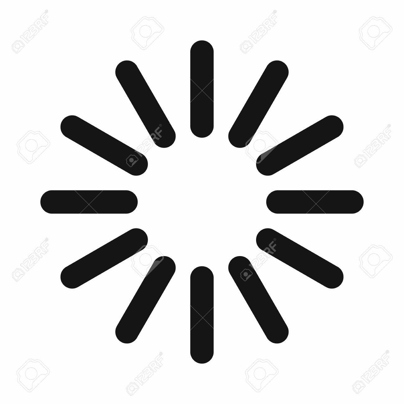Sign waiting download icon in simple style isolated on white sign waiting download icon in simple style isolated on white background loading symbol stock vector biocorpaavc Image collections