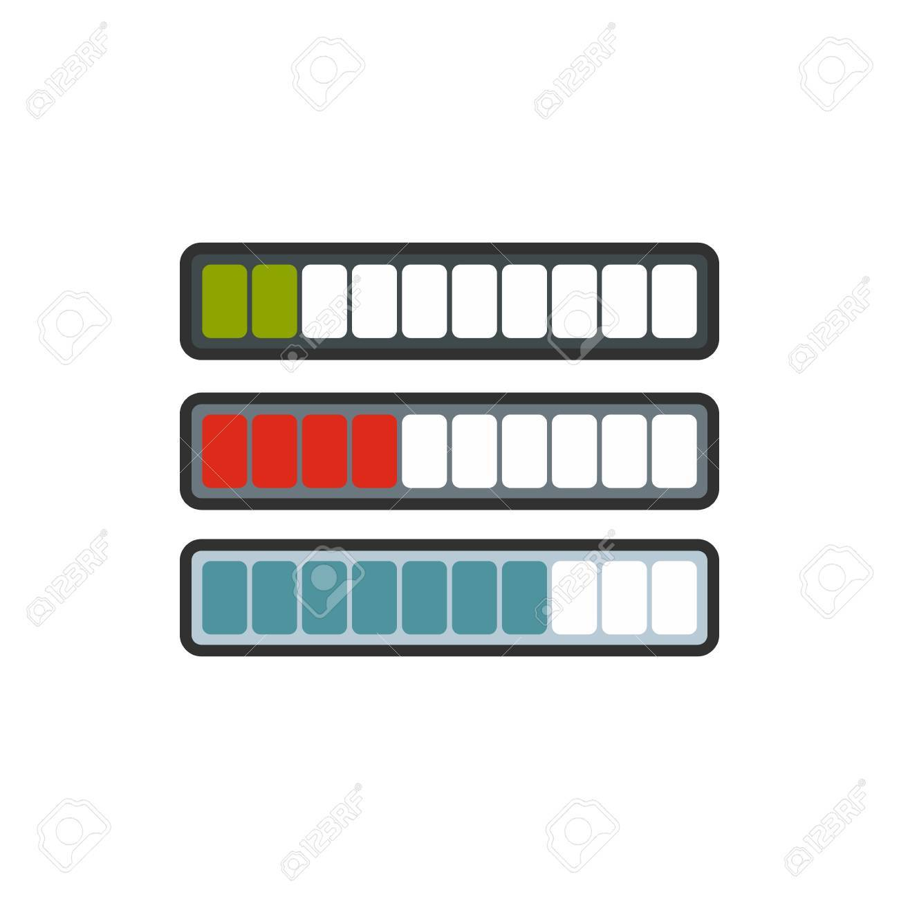 Sign horizontal columns download online icon in flat style sign horizontal columns download online icon in flat style isolated on white background loading symbol biocorpaavc Image collections