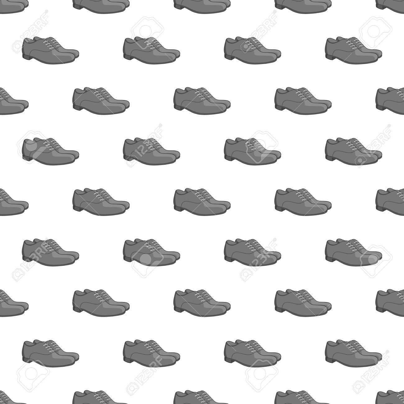 BlancoCalzado Ilustración Para De Zapatos Patrón Diseño Hombre Transparente Sobre Vectorial Fondo fvb76yYg