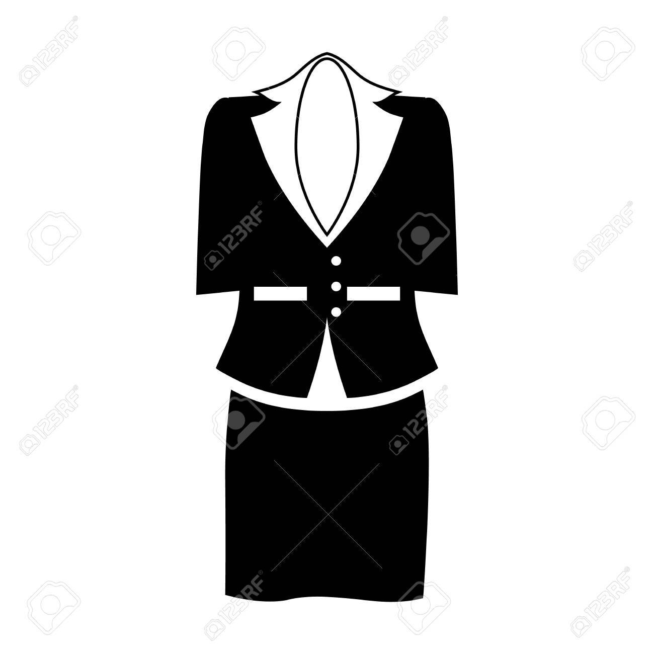 Female office suit icon in simple style isolated on white background female office suit icon in simple style isolated on white background clothing symbol vector illustration publicscrutiny Gallery