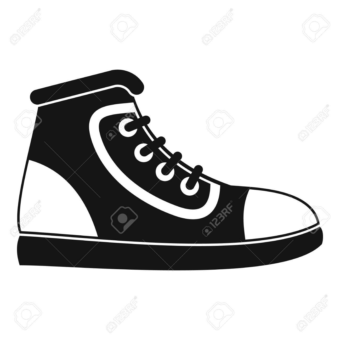 athletic shoe icon simple illustration of athletic shoe vector rh 123rf com victor shoemaker missing wv vector show