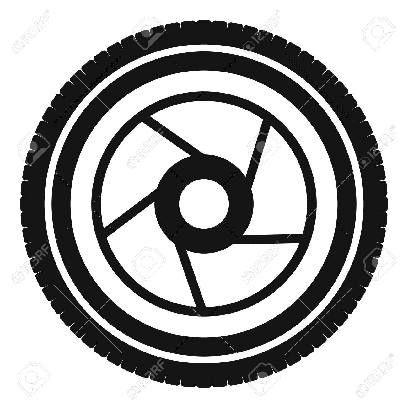 camera aperture icon simple illustration of camera aperture Camera Remote camera aperture icon simple illustration of camera aperture vector icon for web stock vector