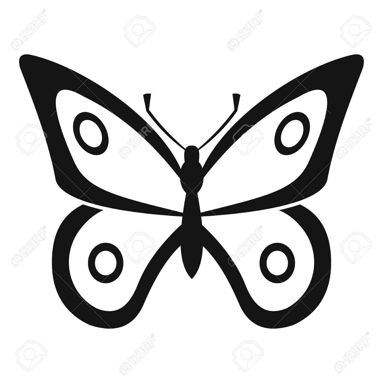little butterfly icon simple illustration of little butterfly rh 123rf com butterfly vector art butterfly vector images