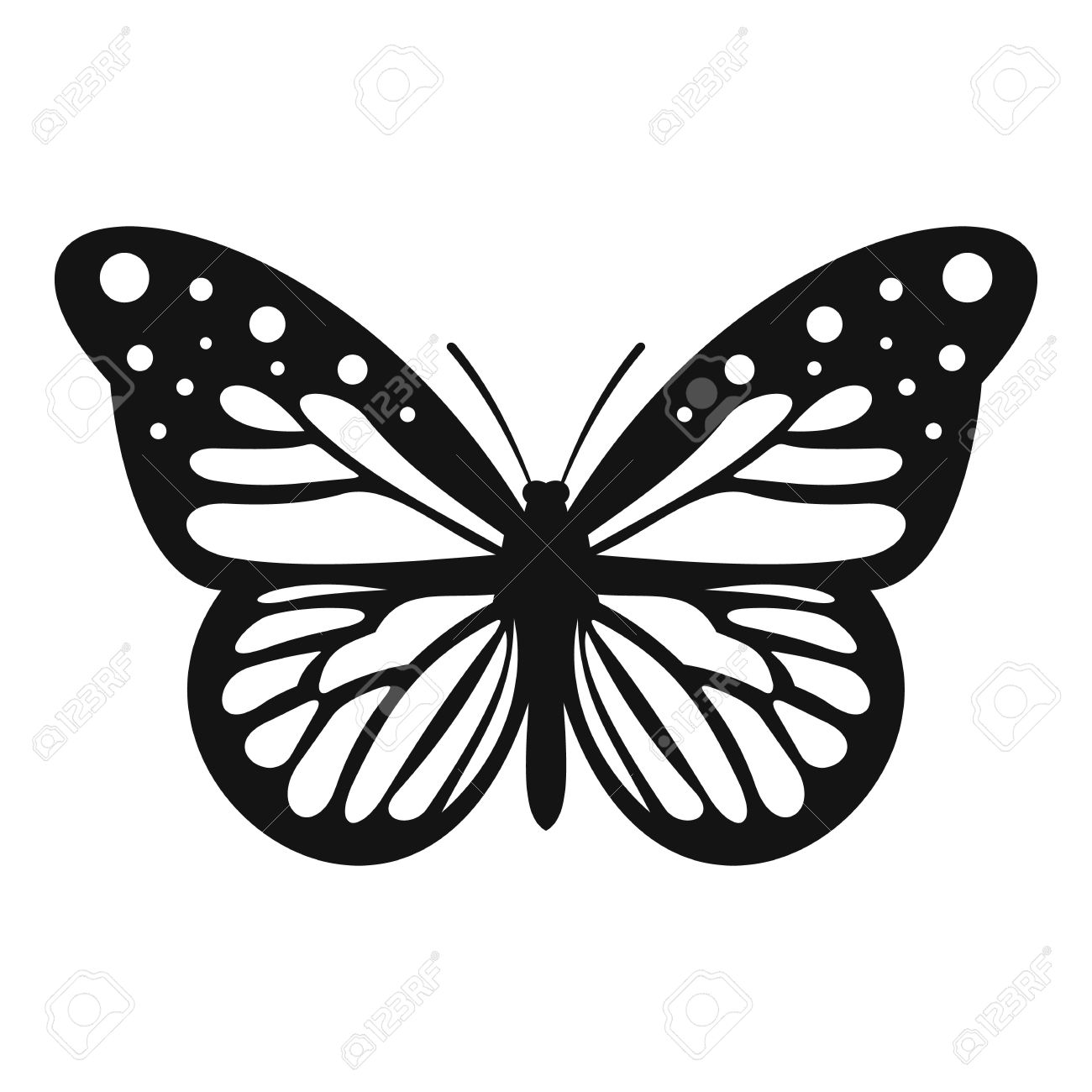big butterfly icon simple illustration of big butterfly vector rh 123rf com butterfly vector free download butterfly vector ai
