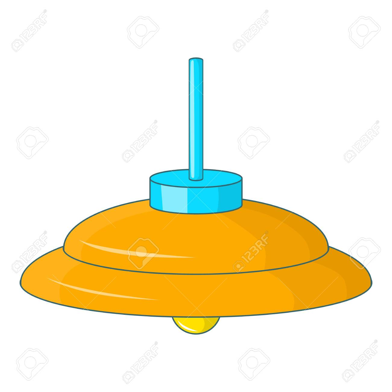 la diseño la de de de para animados el techoIlustración de del dibujos lámpara Amarilla vector web lámpara icono icono de PkiOuTZX