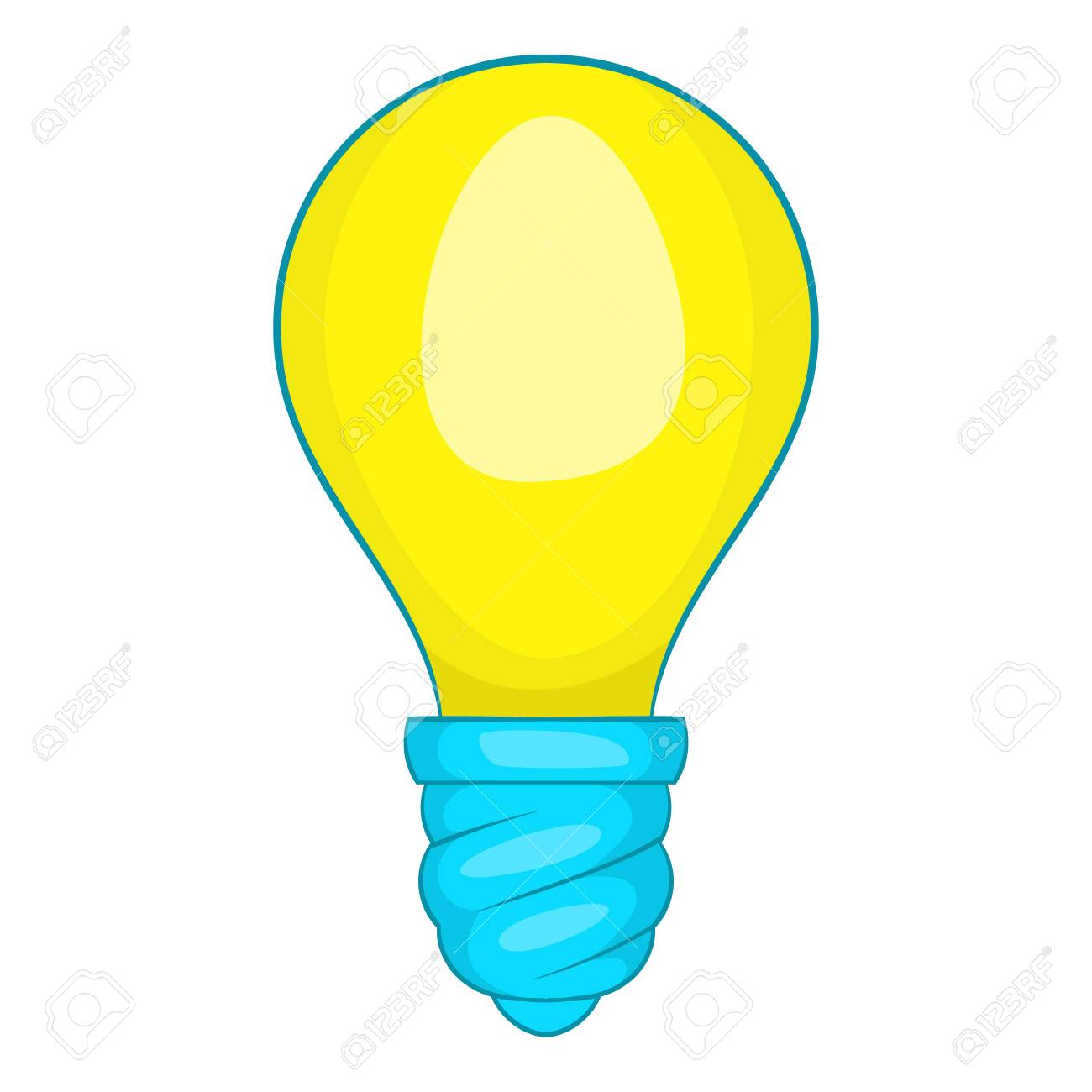 lamp bulb icon cartoon illustration of lamp vector icon for rh 123rf com lamb vector image lamp vector free