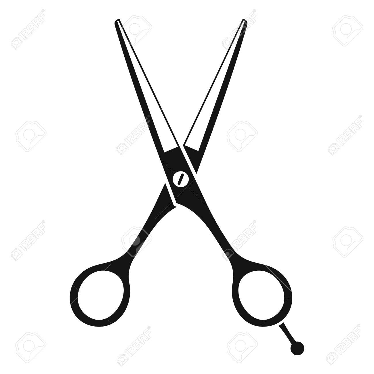 scissors icon simple illustration of scissors vector icon for rh 123rf com scissors vector free scissor vector icon