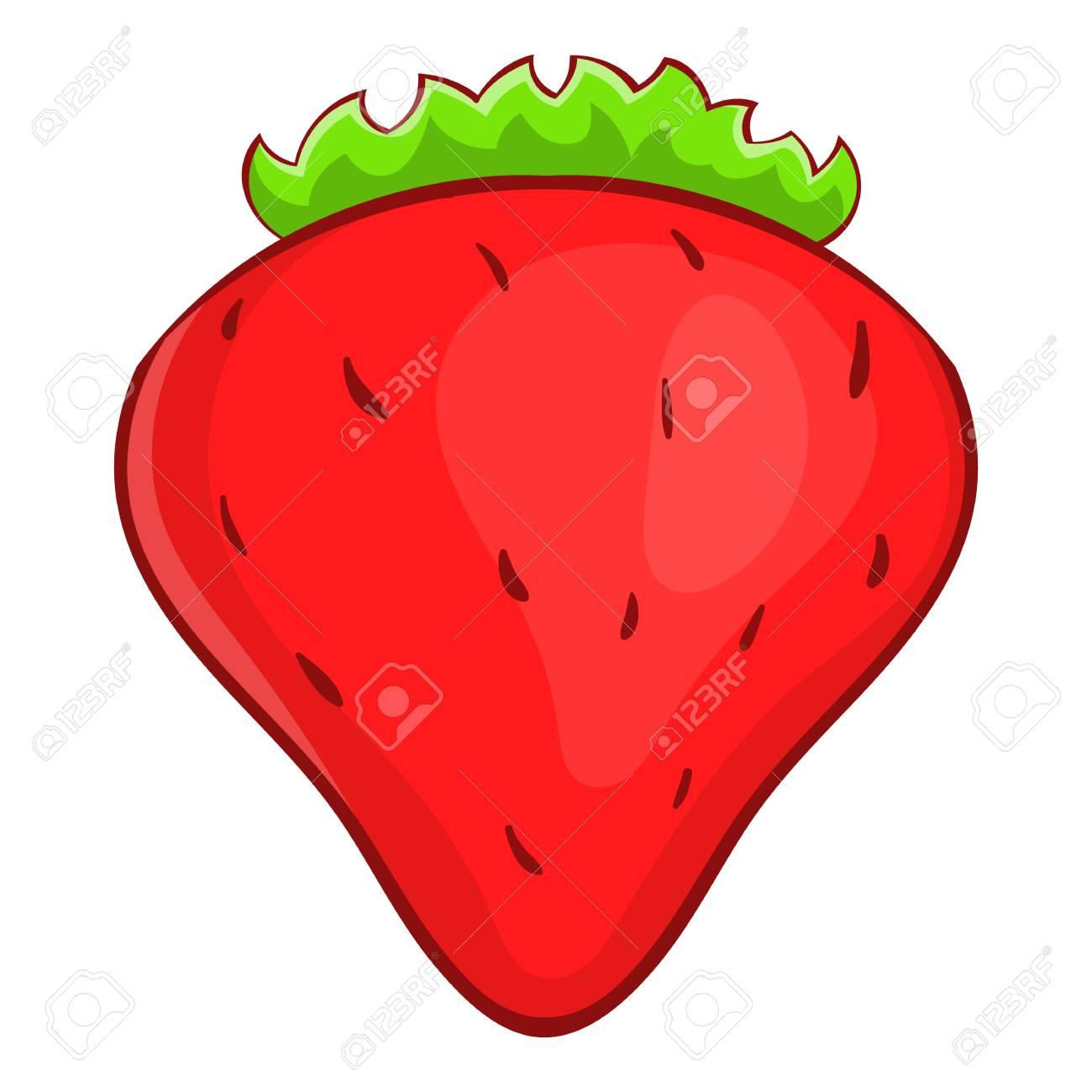 strawberry icon cartoon illustration of strawberry vector icon rh 123rf com strawberry vector background strawberry victoria sponge cake recipe