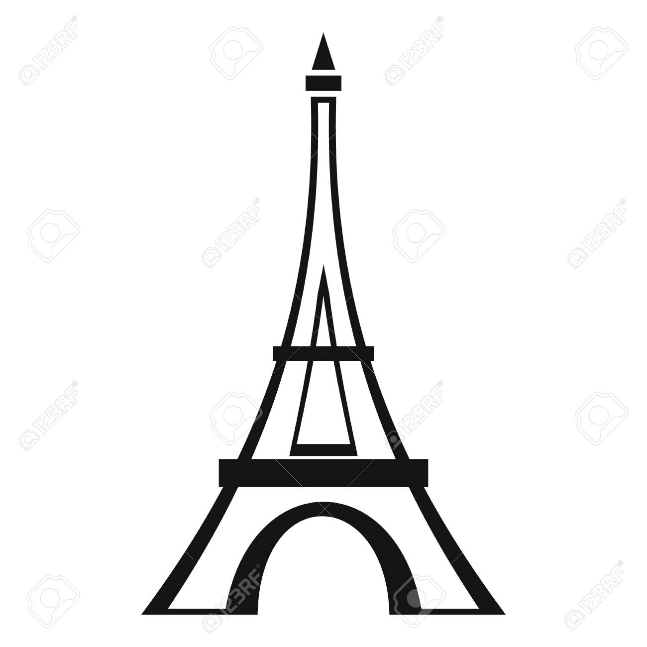 Eiffel tower icon simple illustration of eiffel tower vector eiffel tower icon simple illustration of eiffel tower vector icon for web stock vector thecheapjerseys Gallery