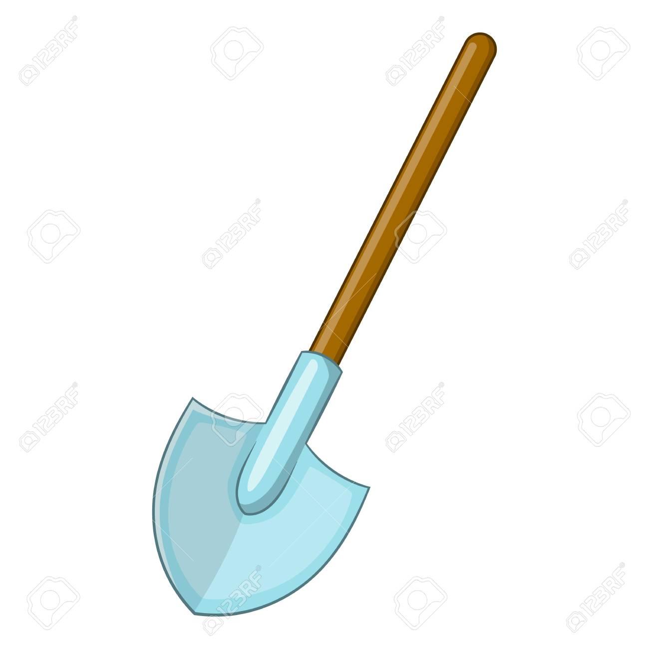 Shovel Icon Cartoon Illustration Of Shovel Vector Icon For Web