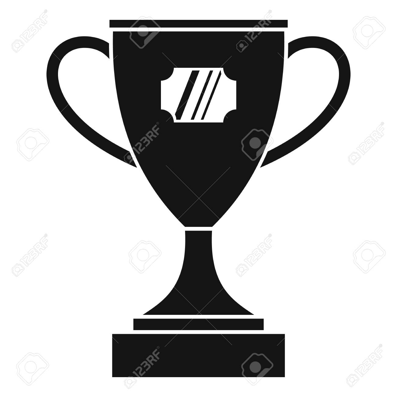 Winner Cup Icon Simple Illustration Of Vector