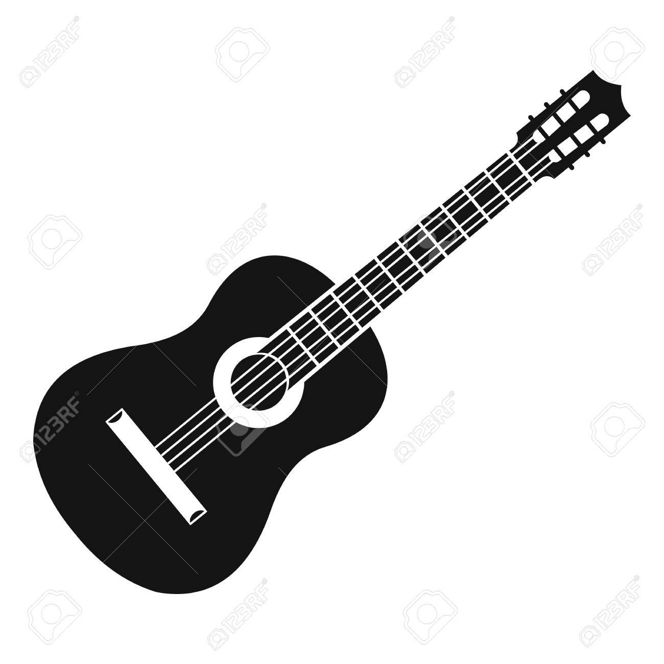 guitar icon simple illustration of guitar vector icon for web rh 123rf com victor guitars denver victor guitars denver