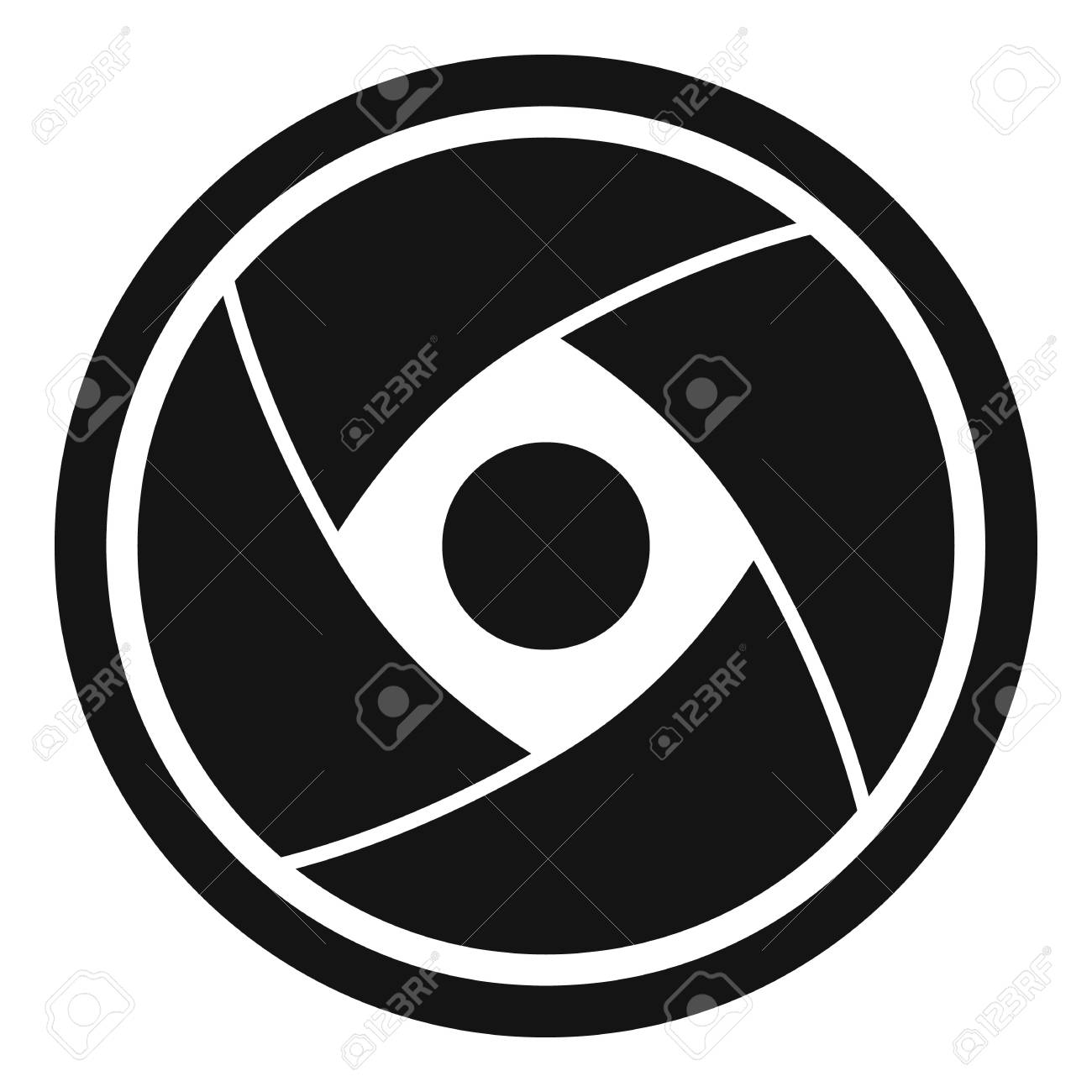 camera lens icon simple illustration of camera lens vector icon rh 123rf com camera lens vector black and white camera lens vector psd