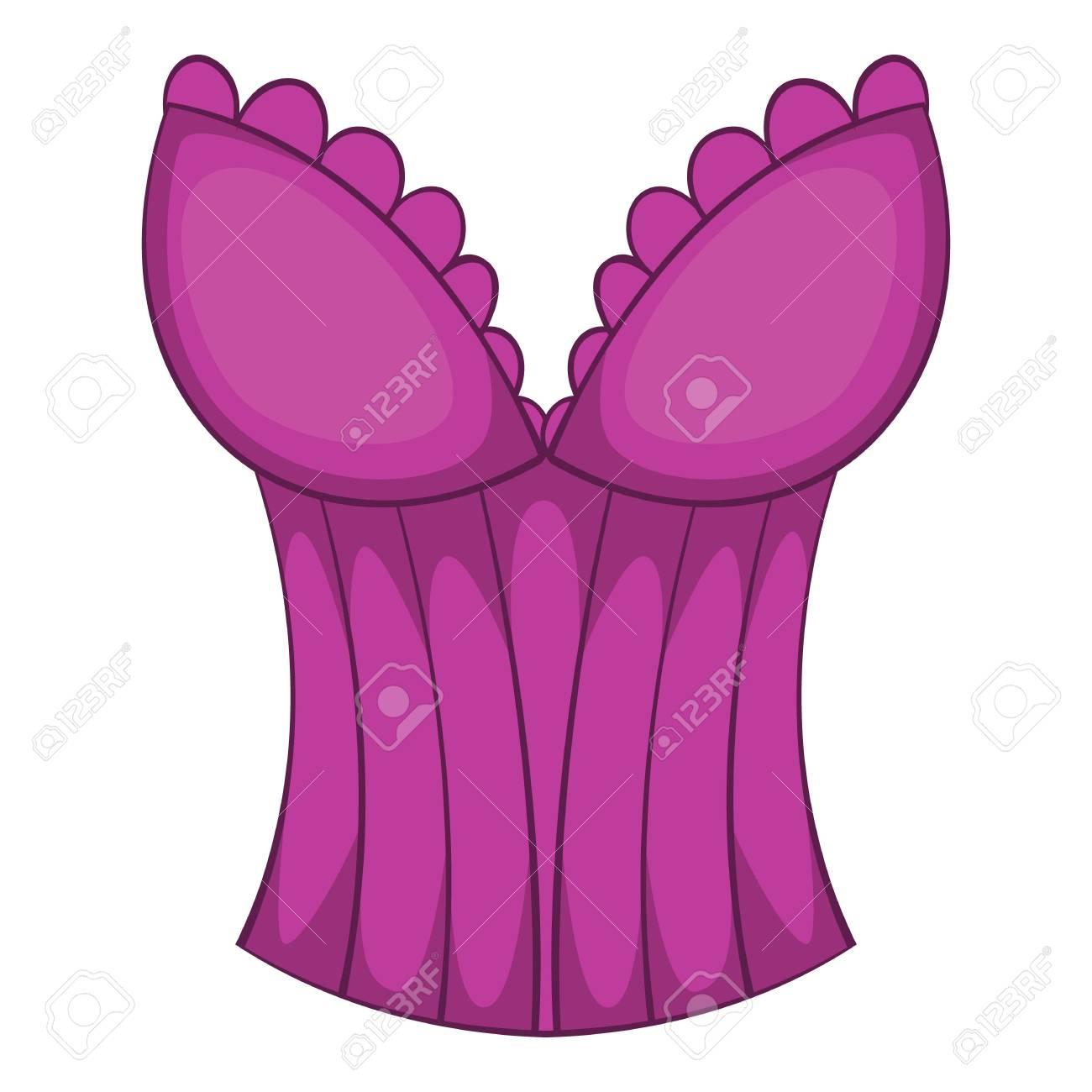 Dorable Vestidos De Dama De Color Púrpura De La Vendimia Componente ...
