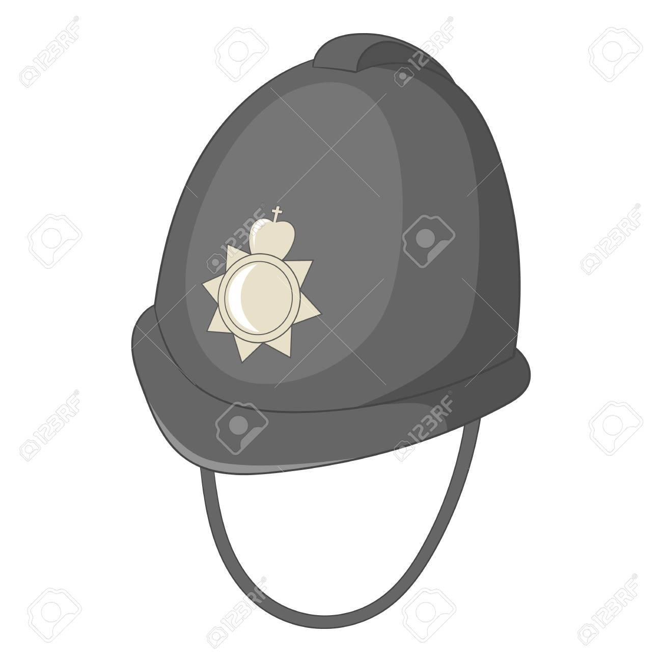 b460a7f8b2d25 Foto de archivo - Tocado del icono de la policía inglesa. Ilustración de  dibujos animados de tocado del icono de vector de policía inglés para diseño  web