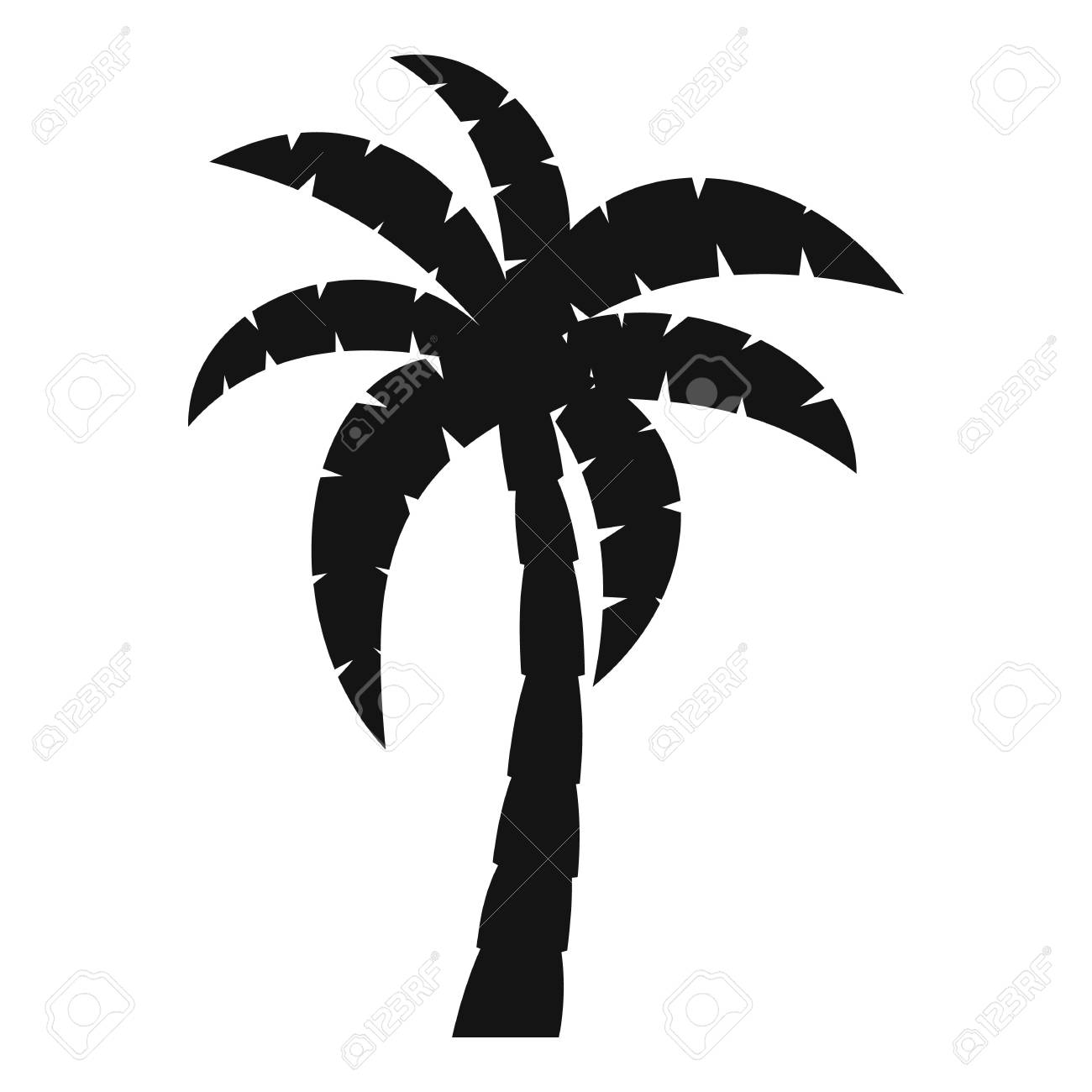 palm icon simple illustration of palm vector icon for web royalty rh 123rf com palm vector download palm vector free download