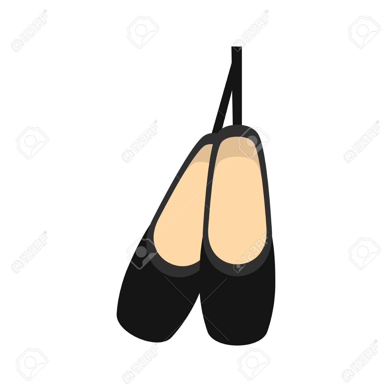 Elegante, chinelos Clipart
