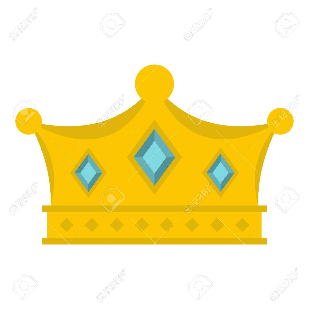 prince crown icon isolated royalty free cliparts vectors and stock