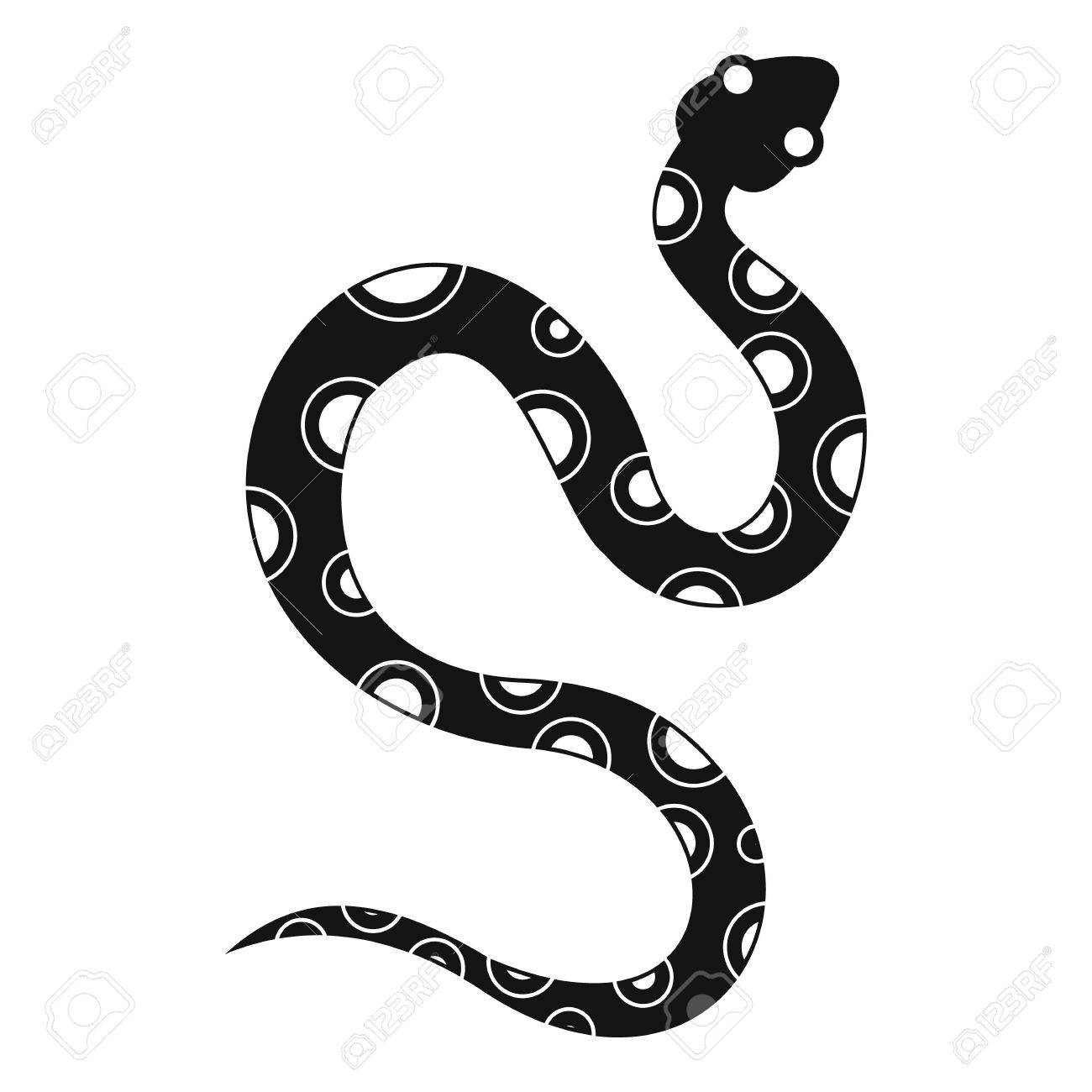 venomous snake icon simple illustration of venomous snake vector rh 123rf com snake vector logo snake vector eps