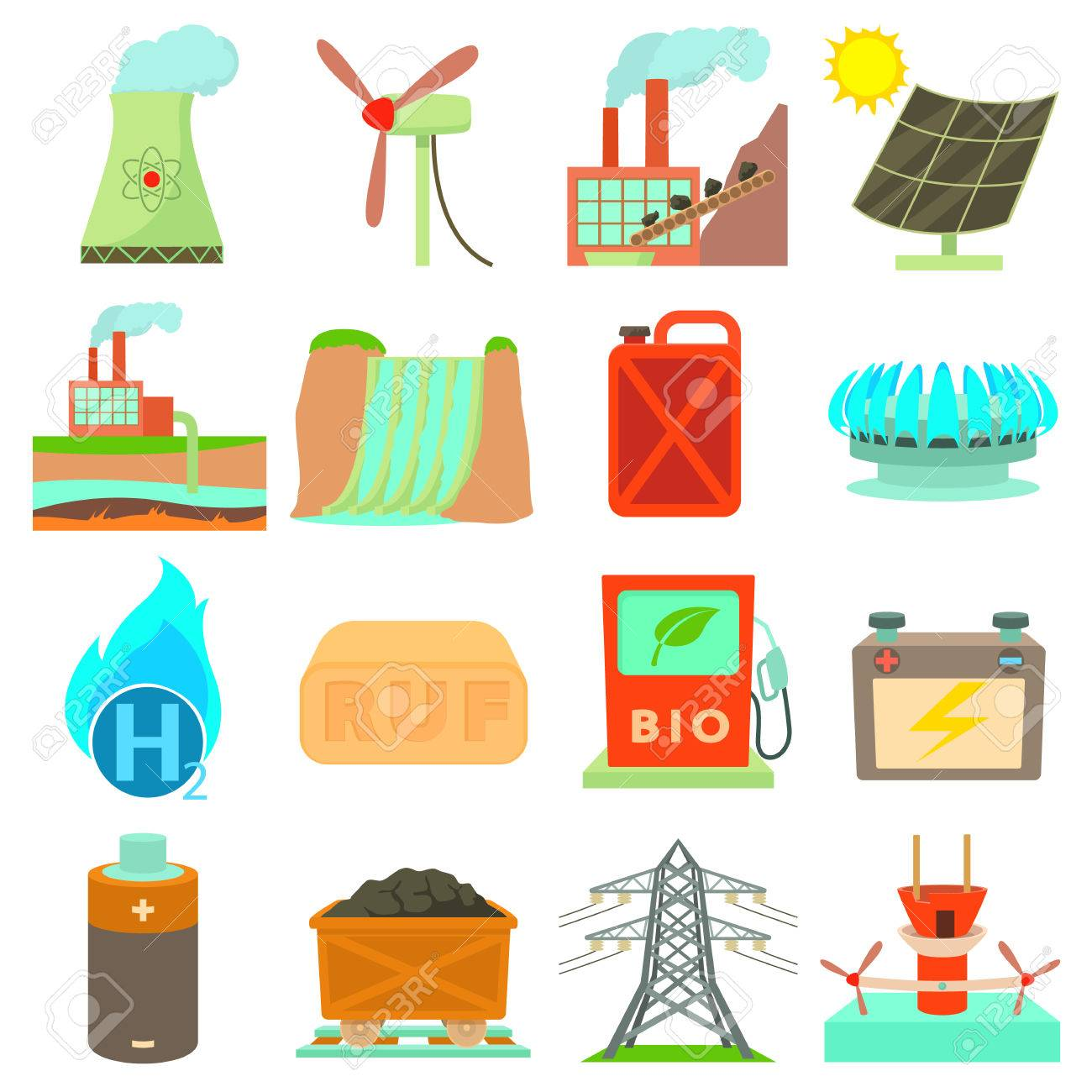 Resultado de imagen de fuentes de energia