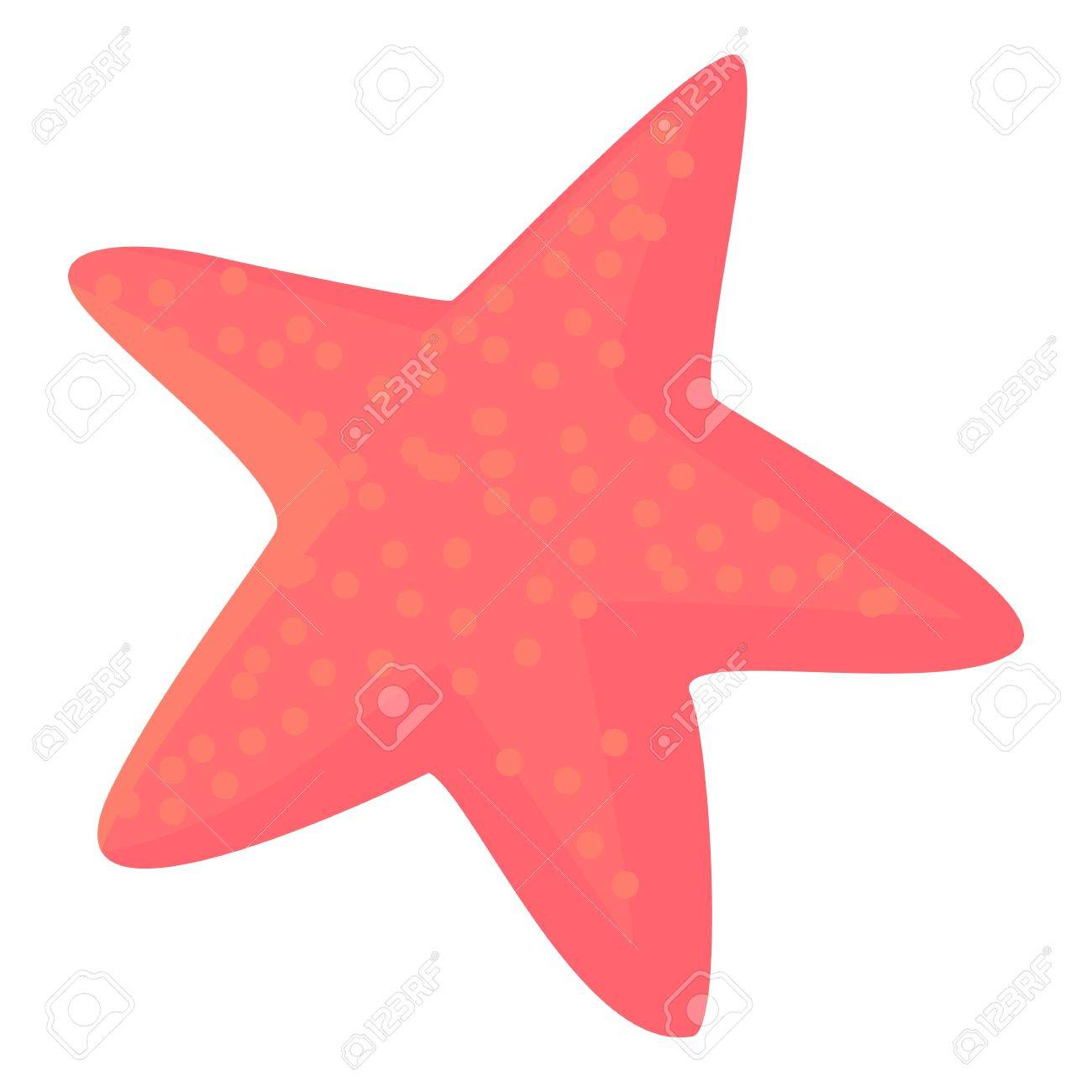 Pink Starfish Clipart. Affordable Starfish Clipart Peach With Pink ...