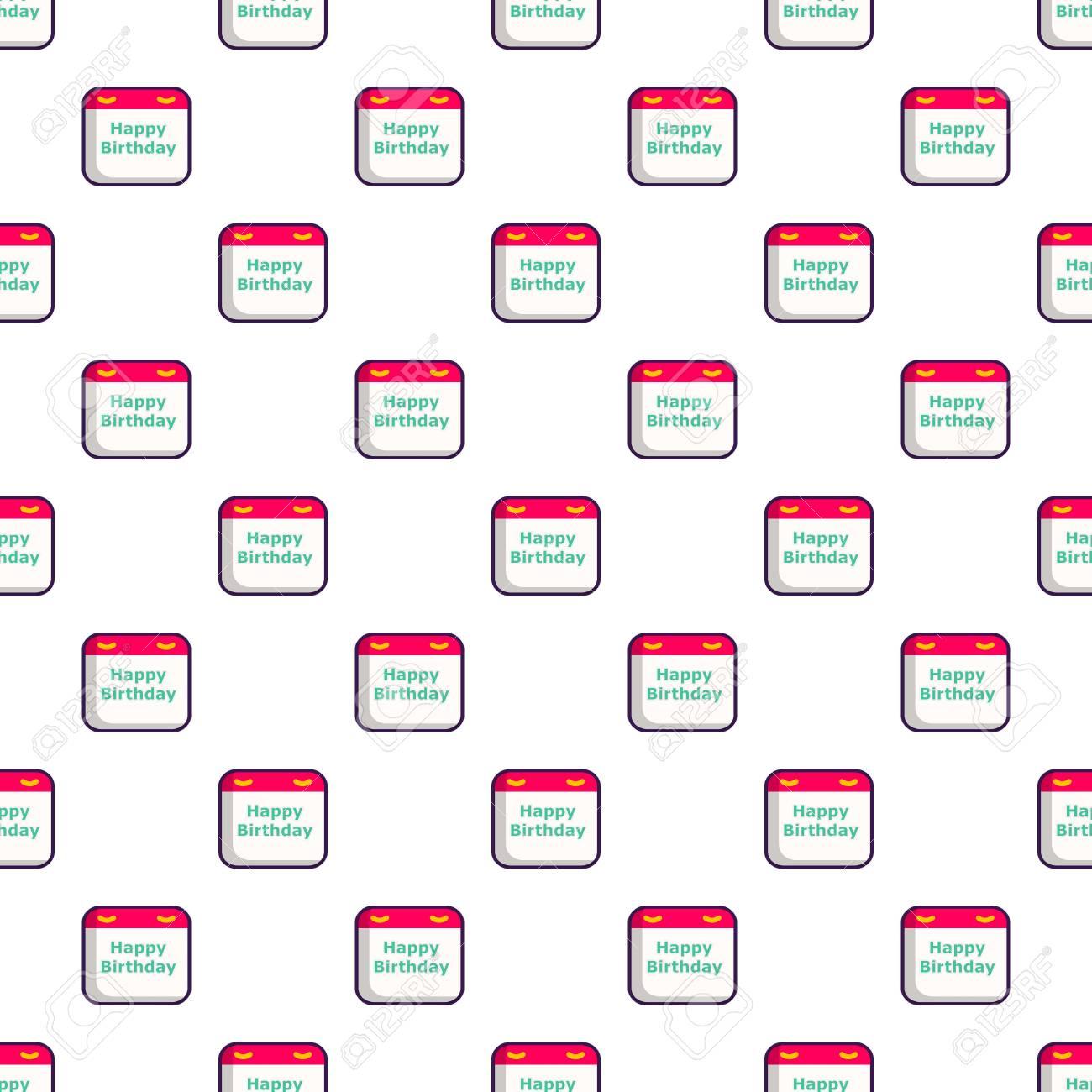 Modele De Calendrier D Anniversaire Clip Art Libres De Droits Vecteurs Et Illustration Image 82747050
