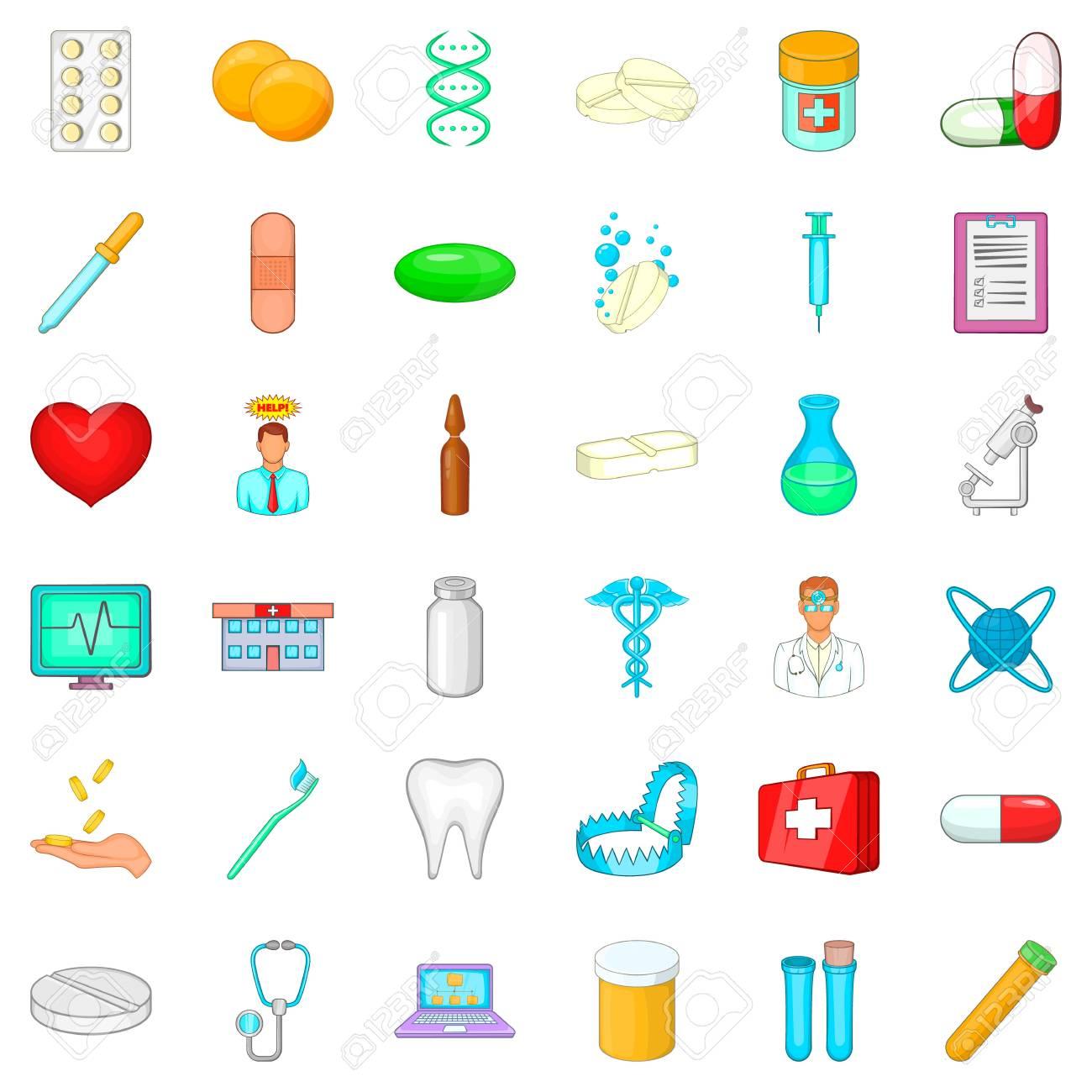Hospital Icon set