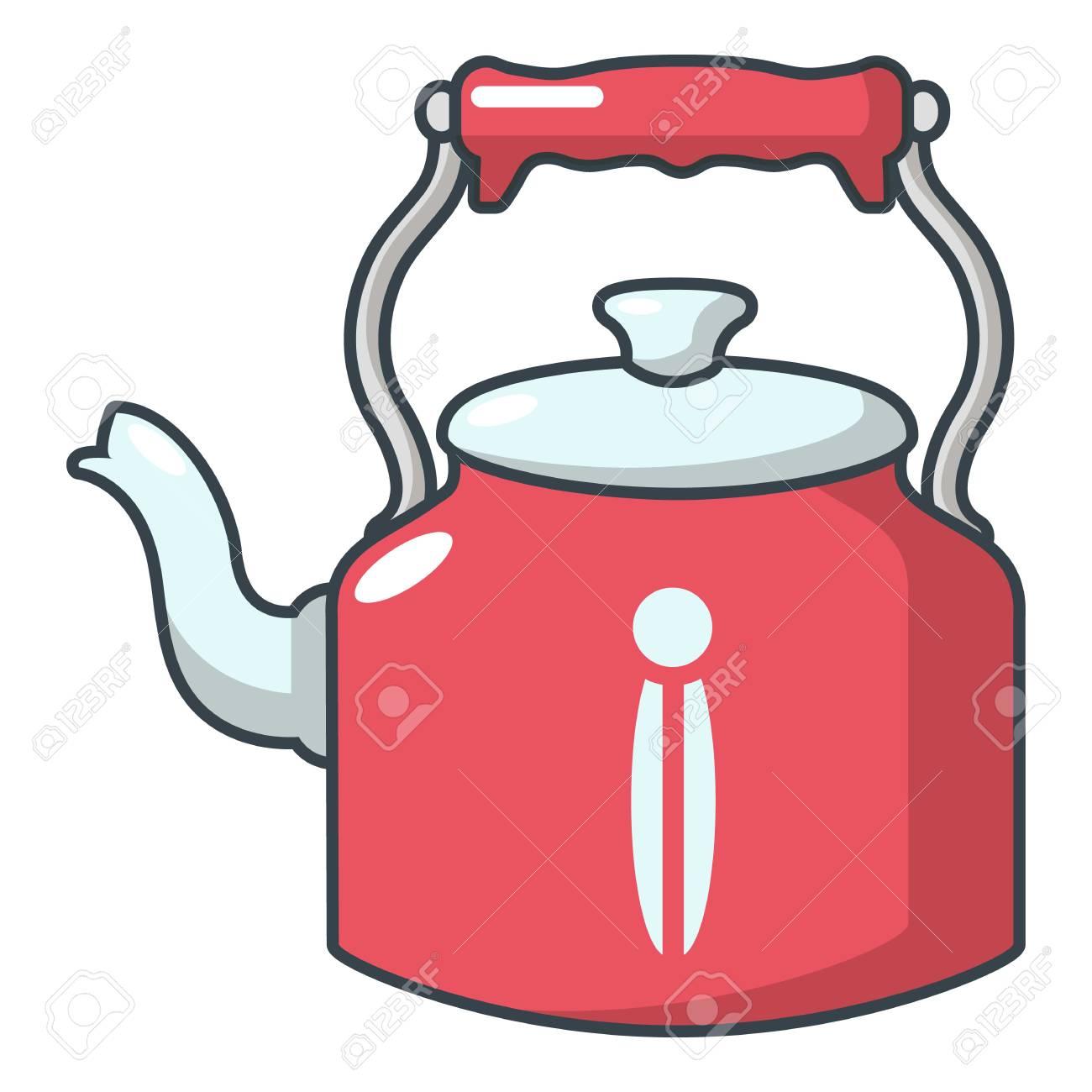 Home Teapot Icon Cartoon Illustration Of Home Teapot Vector