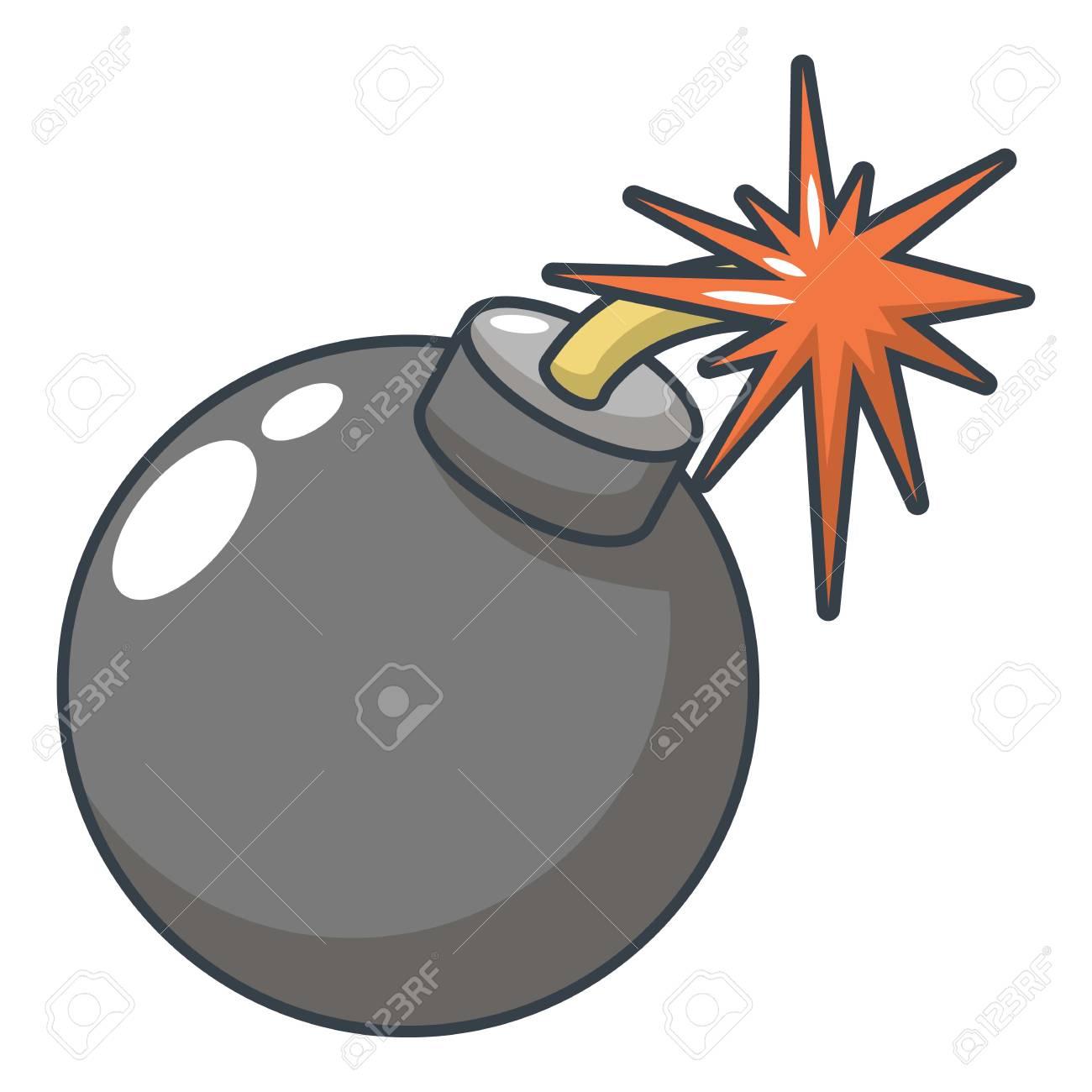 bomb icon cartoon illustration of bomb vector icon for web royalty rh 123rf com bomb vector graphic bomb vector graphic