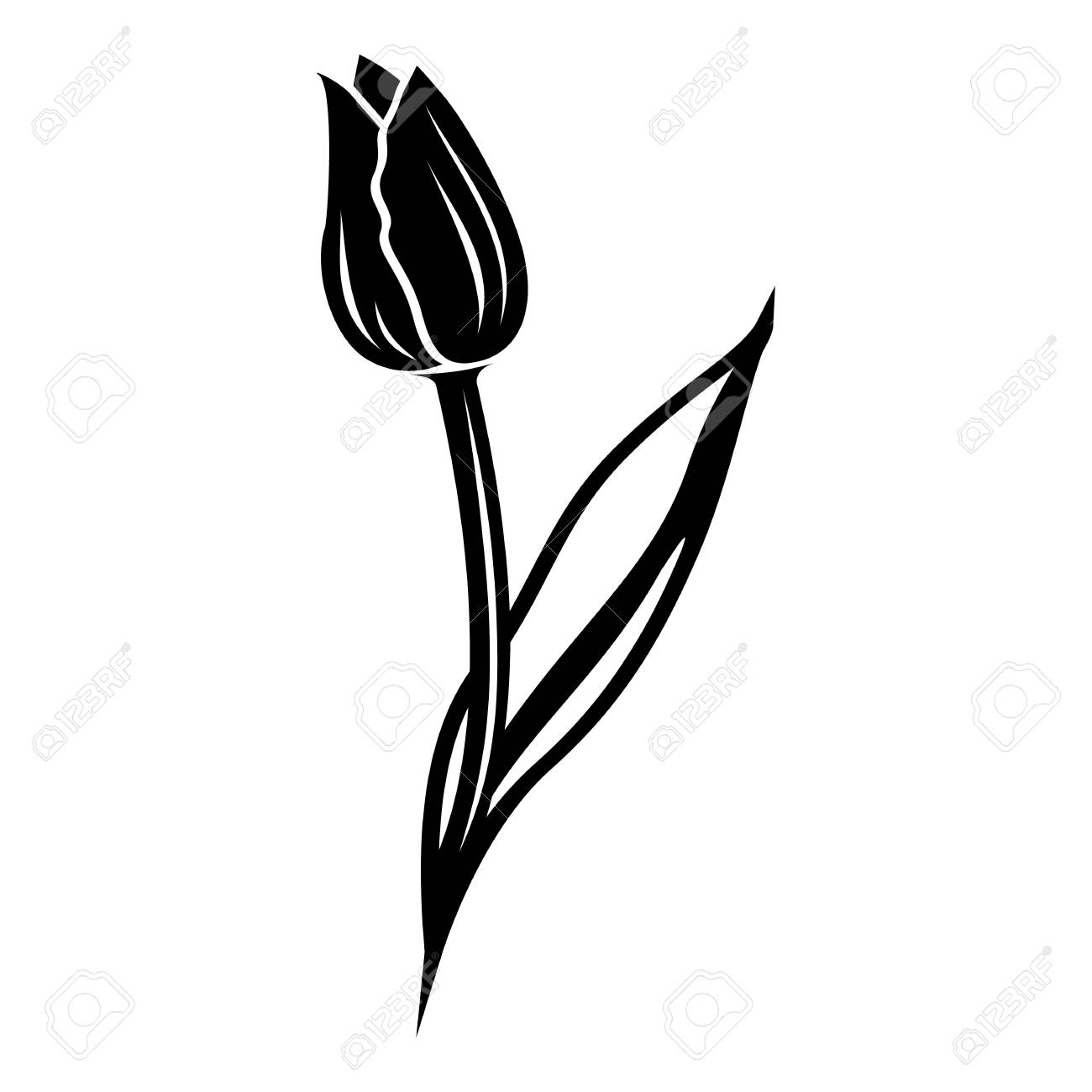 tulip icon simple illustration of tulip vector icon for web royalty free cliparts vectors and stock illustration image 93049193 tulip icon simple illustration of tulip vector icon for web