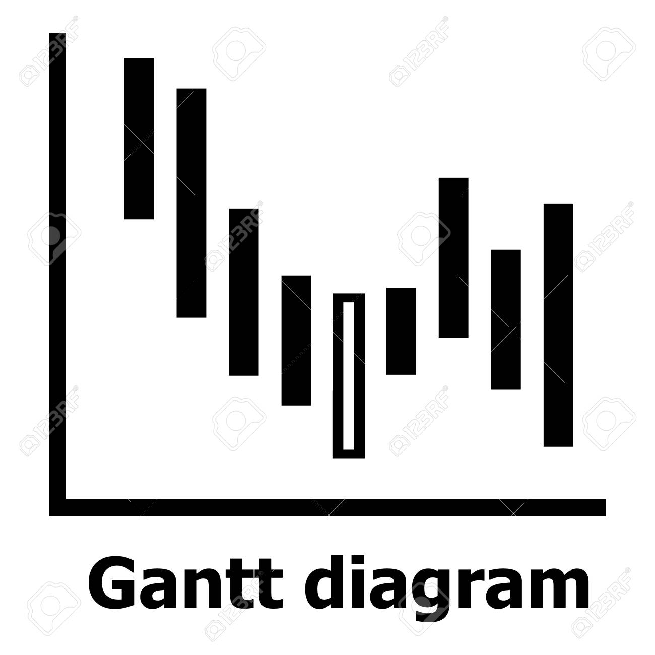 Gantt diagram icon simple style royalty free cliparts vectors gantt diagram icon simple style stock vector 93060466 ccuart Choice Image