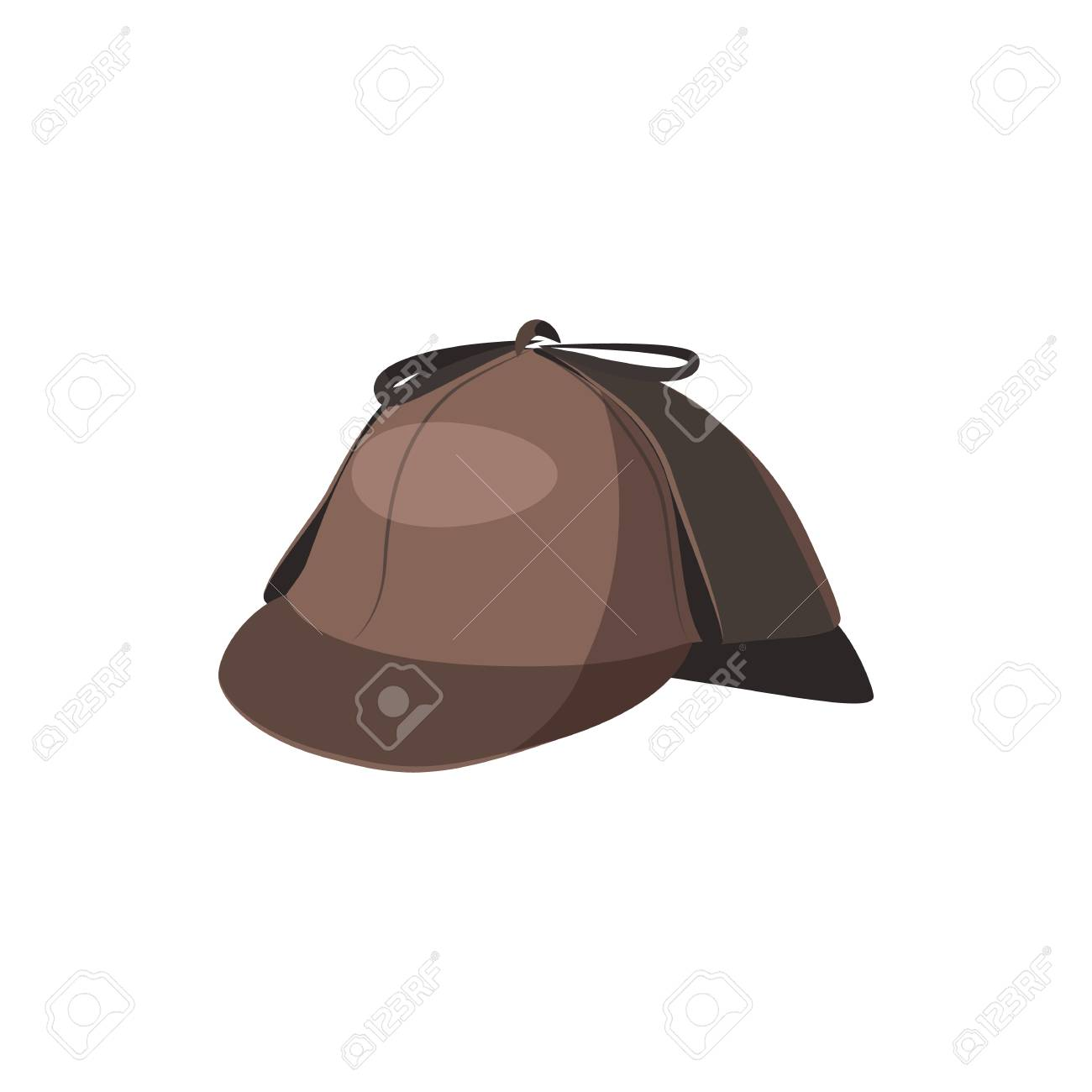 Detective Hat Icon Cartoon Style Stock Photo Picture And Royalty Free Image Image 105975304 Find the perfect detective hat stock illustrations from getty images. detective hat icon cartoon style