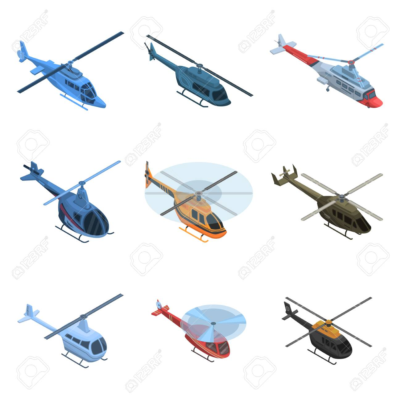 helicopter icon set isometric set of helicopter vector icons royalty free cliparts vectors and stock illustration image 113742036 helicopter icon set isometric set of helicopter vector icons
