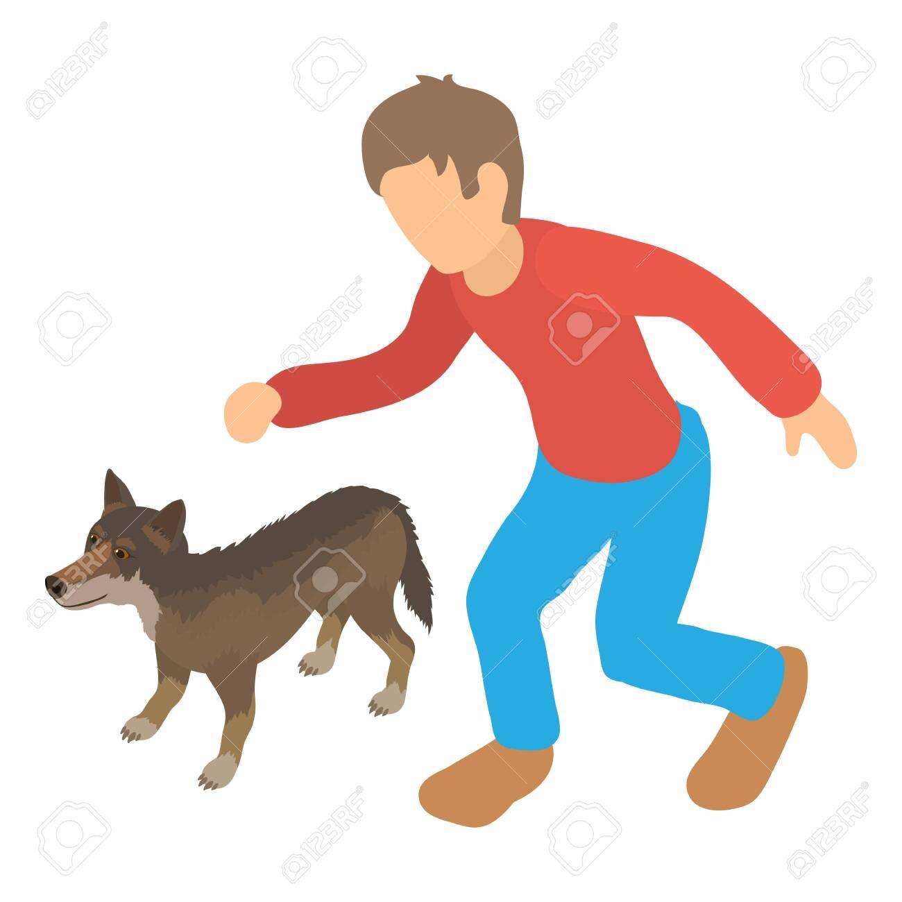 Animal protection icon, isometric style - 137092231