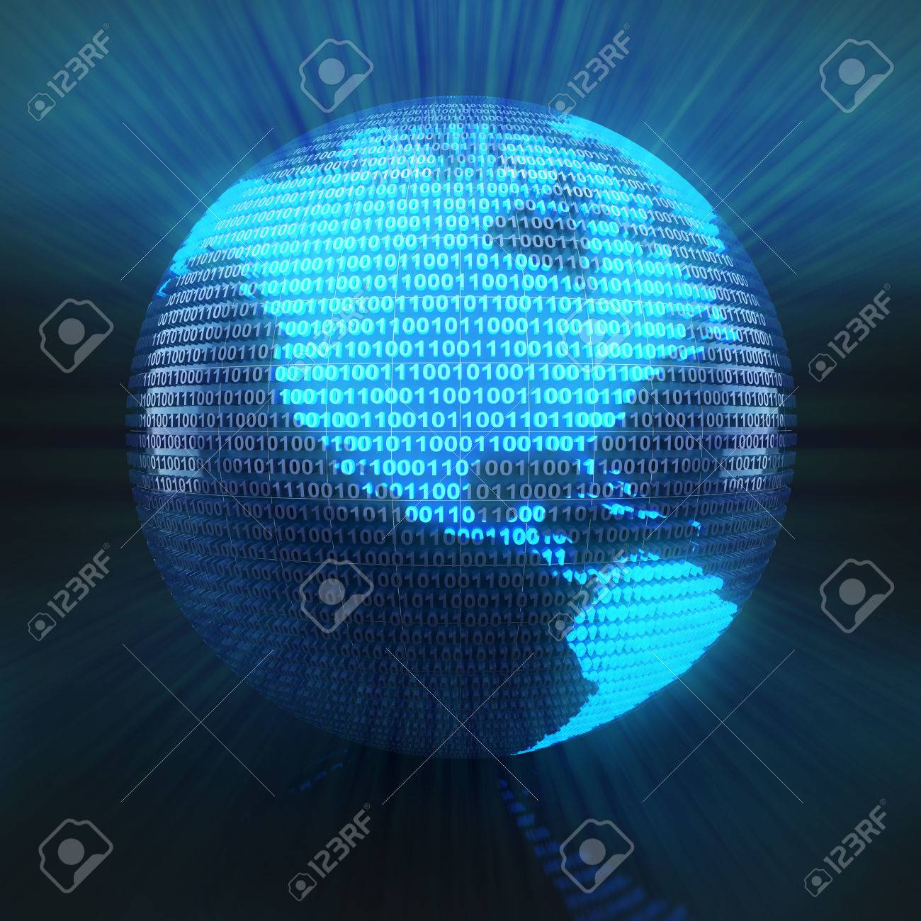 World map on globe formed by binary code 3d render stock photo world map on globe formed by binary code 3d render stock photo 42869473 gumiabroncs Image collections