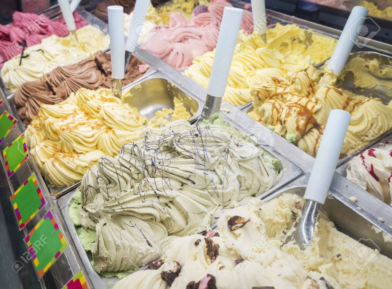 Image result for ice cream counter