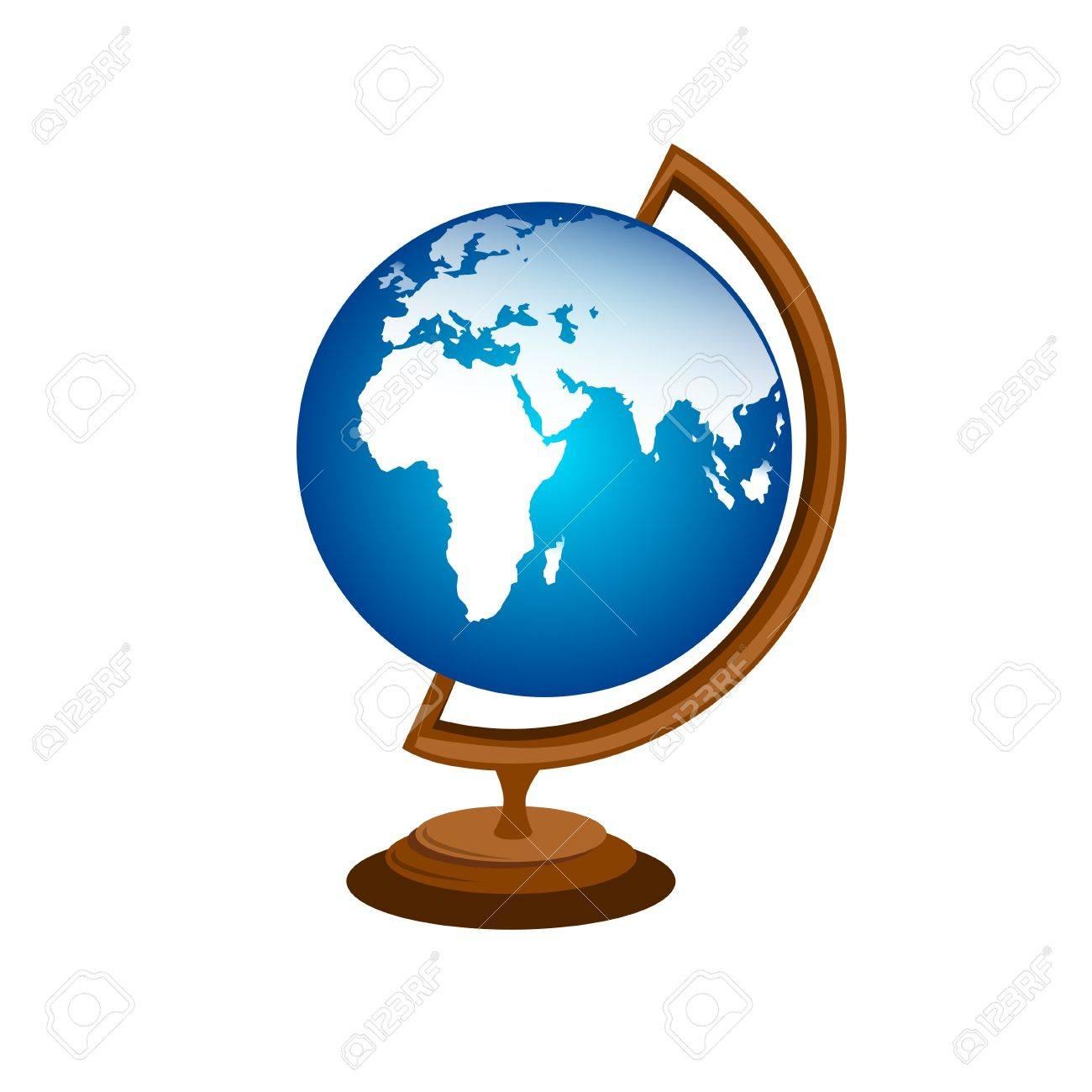 Table Globe Stock Vector - 11020010