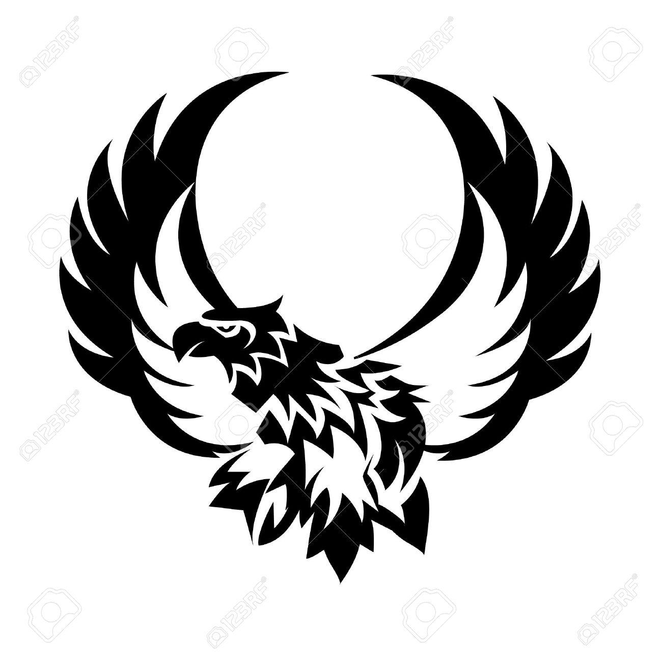 Eagles Logo Outline Eagle Tattoo Logo